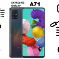 گوشی موبایل سامسونگ Galaxy A71/SM-A715F/DSدو سیم کارته ظرفیت ۱۲۸گیگابایت