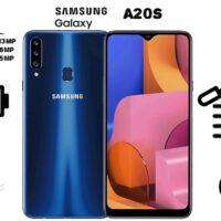 گوشی موبایل سامسونگ مدل Galaxy A20s SM-A207F/DS دو سیم کارت ظرفیت ۳۲ گیگابایت