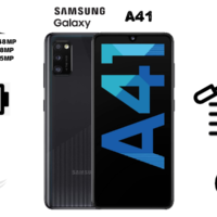 گوشی موبایل سامسونگ مدل Galaxy A41 دو سیم کارت