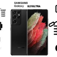 گوشی موبایل سامسونگ مدل Galaxy S21 Ultra 5G SM-G998B/DS دو سیم کارت ظرفیت ۲۵۶ گیگابایت و رم