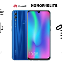 گوشی موبایل آنر مدل ۱۰ Lite HRY-LX1MEB دو سیم کارت ظرفیت ۶۴ گیگابایت